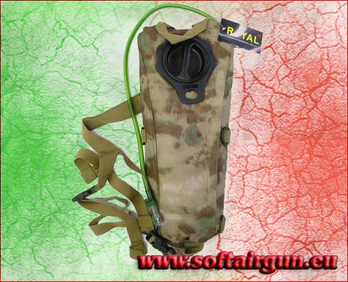 Zaino atacs con sacca porta acqua da 2 5 litri - Porta acqua per termosifoni ...