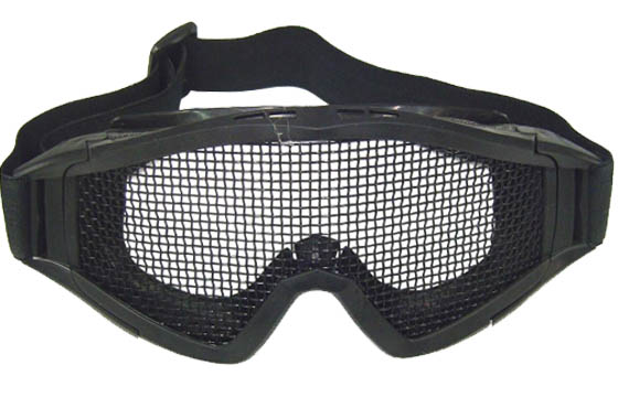MASCHERA SNOW TACTICAL NERA CON RETE (ROYAL)