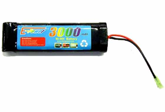 BATTERIA 3000mAH 8.4V GOLDEN BOW (8 4x3000)
