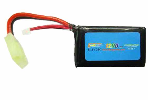 BATTERIA LIPO 1200MAH-11.1V-25C E-POWER
