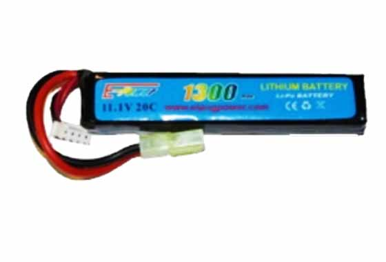 BATTERIA LIPO 1300mAH 11.1V 20C E-POWER GOLDEN BOW (11 1X1300 20