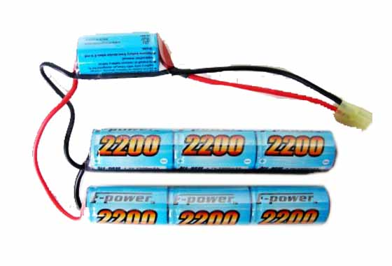BATTERIA CQB 2200mAH 8.4V E-POWER GOLDEN BOW (8 4X2200CQB)