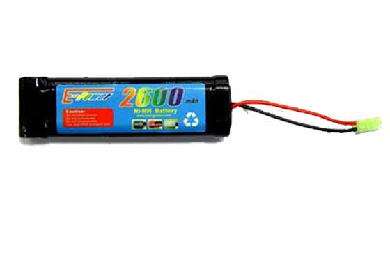 BATTERIA 2600mAH 8.4V GOLDEN BOW