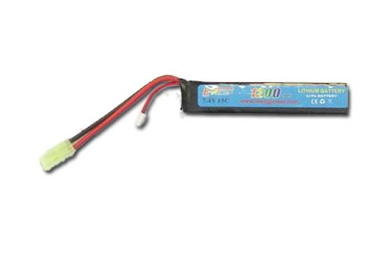BATTERIA LIPO 1200mAH-7.4V-15C E-POWER (GOLDEN BOW)(7.4X1200)