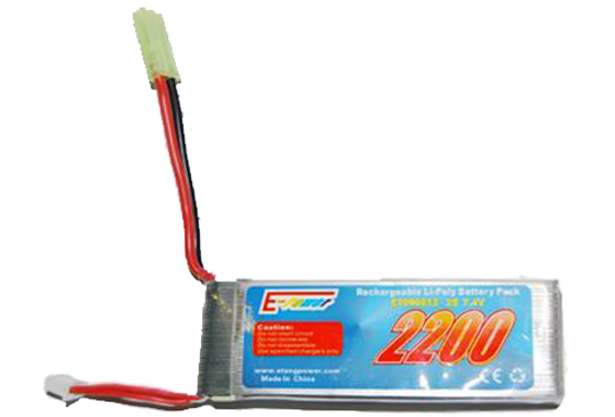 z BATTERIA LIPO 2200mAH-7,4V E-POWER(GOLDEN BOW)