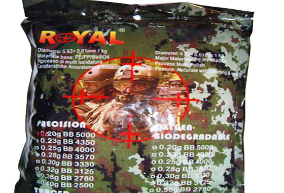 PALLINI 0,28gr ROYAL PRECISION 3570Pz