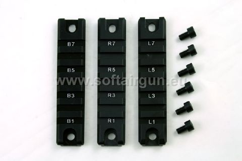 Picatinny Rails for G36C