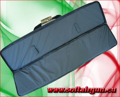 Sacca porta fucile vegetata con 4 tasche mis 107cmx25cm - Borsa porta carabina ...