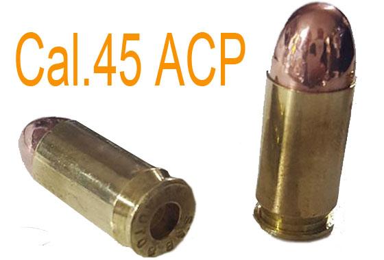 Coppia Cartuccia vera inerte Cal.45 ACP