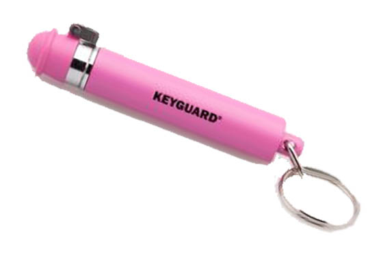 SPRAY PEPE ANTIAGGRESSIONE MACE - HOTPINK KEYGUARD PINK