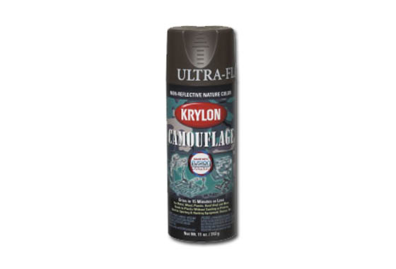 KRYLON Vernice spray mimetica con Fusion Technology (MARRONE)