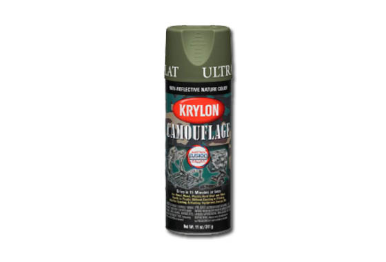 KRYLON Vernice spray mimetica con Fusion Technology (WOODLAND VE