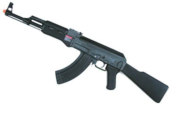 AK 47 W BLOW BACK FULL METAL SCARELLANTE GG47SCBM