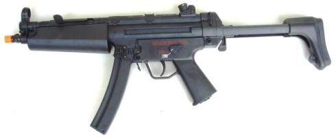 z CYMA MP5 RETRA FULL METAL SCARRELLANTE