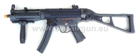 z CYMA MP5 FOLDING STOCK FULL METAL SCARRELLANTE