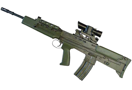 L85 A2 CARBINE FULL METAL scarrellante ENFIELD INGLESE G&G(GG85M