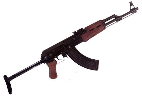 Replica inerte AK 47 Kalashnikov calcio pieghevole