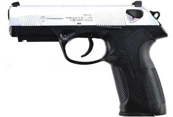Pistola 3PX4 CUSTOM WE SILVER EX-L