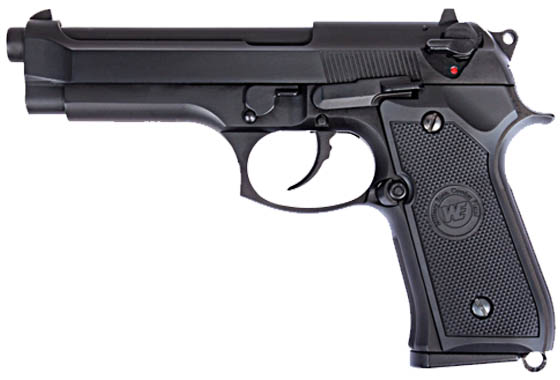 z Pistola M92 Pistol Black WE