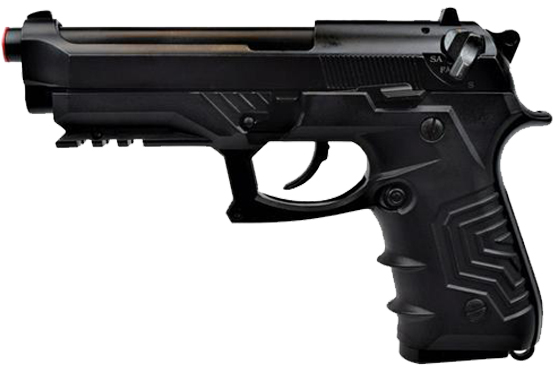 PISTOLA M9 TACTICAL HG-173 SEMI/FULL AUTO RAFFICA (HG173R)