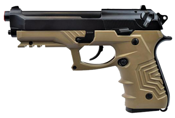 PISTOLA M9 A GAS FULL METAL -HG173- TAN (HG 173B)