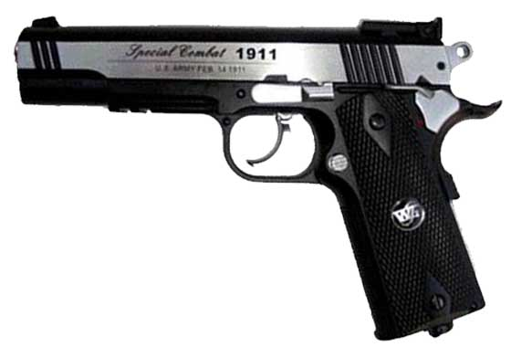 COLT 1911-A1 CO2 SCARRELLANTE FULL METAL (WG) c601bc
