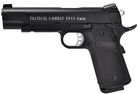 KP-05 TACTICAL COMBAT 1911 SCARRELLANTE FULL METAL