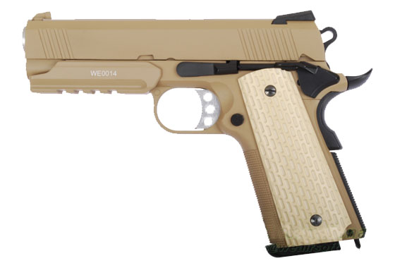 Pistola WE 4.3 SOCOM DESERT FULL METAL A GAS