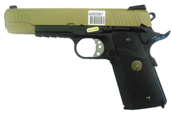 1911 MEU STYLE FULL METAL WE (W055BT)
