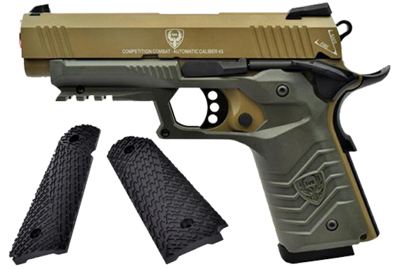 HFC PISTOLA A GAS HG-171 TACTICAL 1911 TAN/OD (HG 171T)