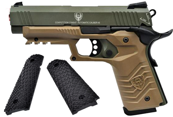 HFC PISTOLA A GAS HG-171 TACTICAL 1911 GREEN/TAN (HG 171S)