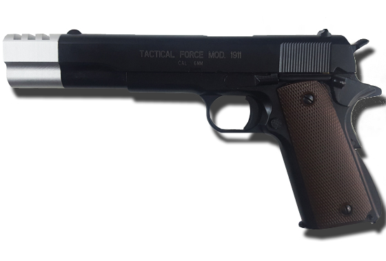 "Colt 1911 Tactical Force 6"" Compensator Custom Edizione Limitata"
