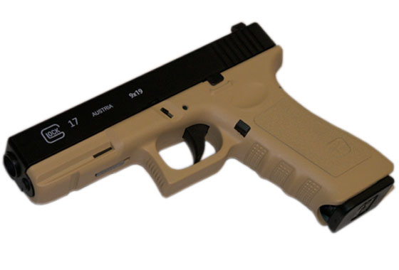 GLOCK 17 SCARRELLANTE FULL METAL TAN