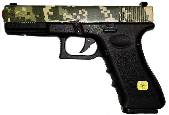 GLOCK 17 Custom Limited Jungle Digi Camo C/B