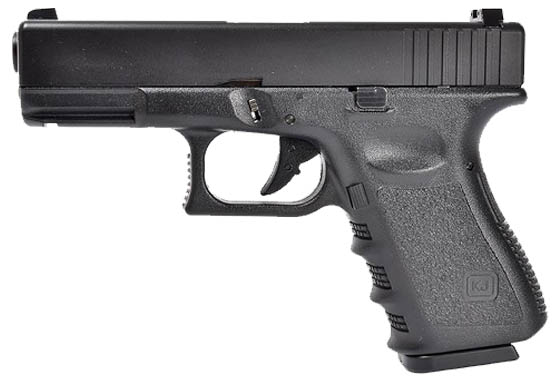 Glock G23 Metal Slide Scarrellante a Gas by Kjw per Evolution Ai