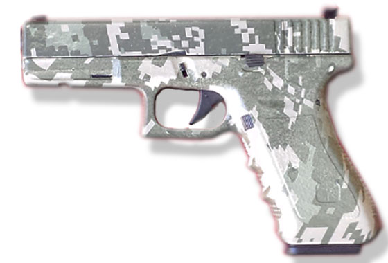 Glock 17 6mm Softair Jungle Digi Camo