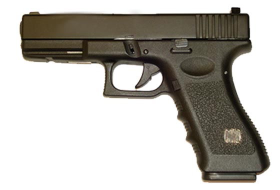 GLOCK 17 SCARRELLANTE FULL METAL(HFC)