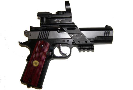 SPECIAL COMBAT Tactical 1911 L C02 SCARRELLANTE FULL METAL(WG)
