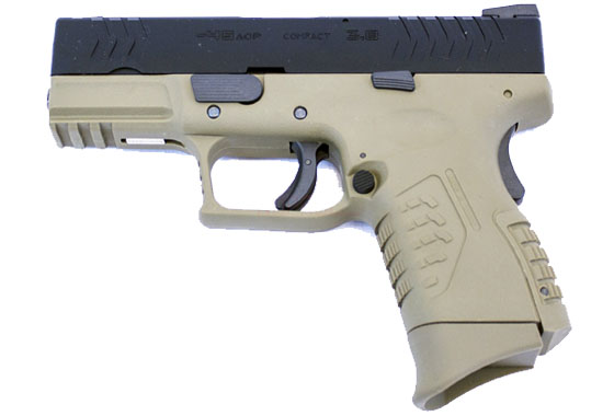 XDM COMPACT 3.8 BICOLOR TAN WE PROMO