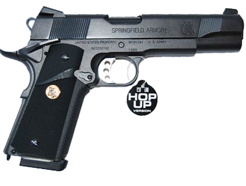 z ARMY MEU PISTOL M1911 A1 FULL METAL GAS SCARRELLANTE