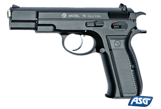 Pistola CZ 75 Full metal gas scarrellante