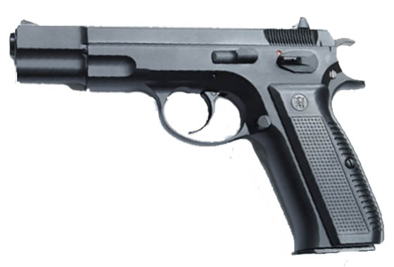 z Pistola CZ 75 Full Metal Gas Scarrellante