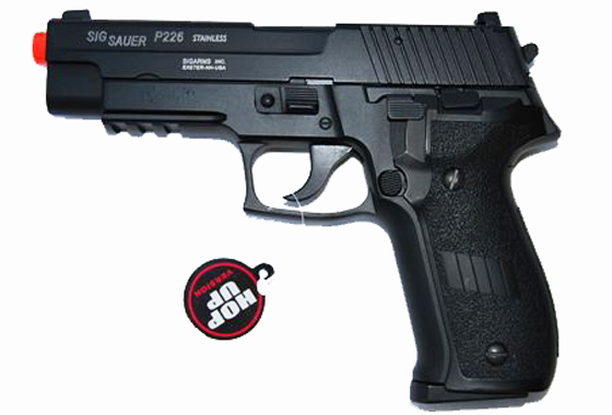 zz P226 FULL METAL SCARRELLANTE a GAS