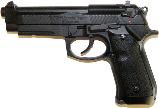 Pistola B92SF GAS SCARRELLANTE FULL METAL