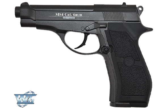 Pistola M84 FULL METAL GAS CO2 WIN GUN (C301B)