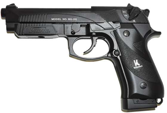 BERETTA 92FS GAS E CO2 SCARELLANTE SING/RAFFICA FULL METAL