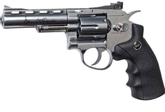 "Dan Wesson 4""revolver CO2 Full Metal"