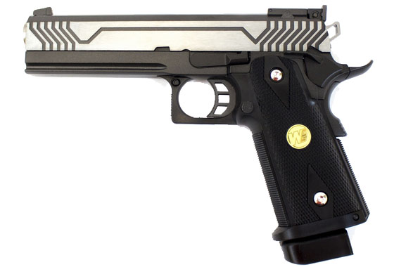 Co2 Hi-Capa 5.1 M1-Version Black Pistol