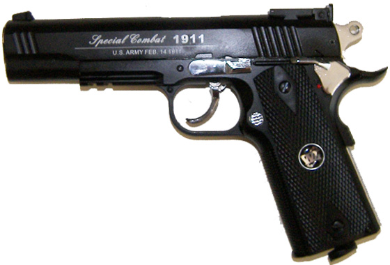 SPECIAL COMBAT 1911 L C02 FULL METAL CO2 NERA
