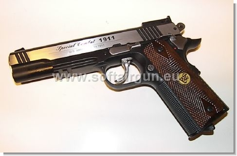 SPECIAL COMBAT SPORT 1911 L C02 SCARRELLANTE FULL METAL CO2